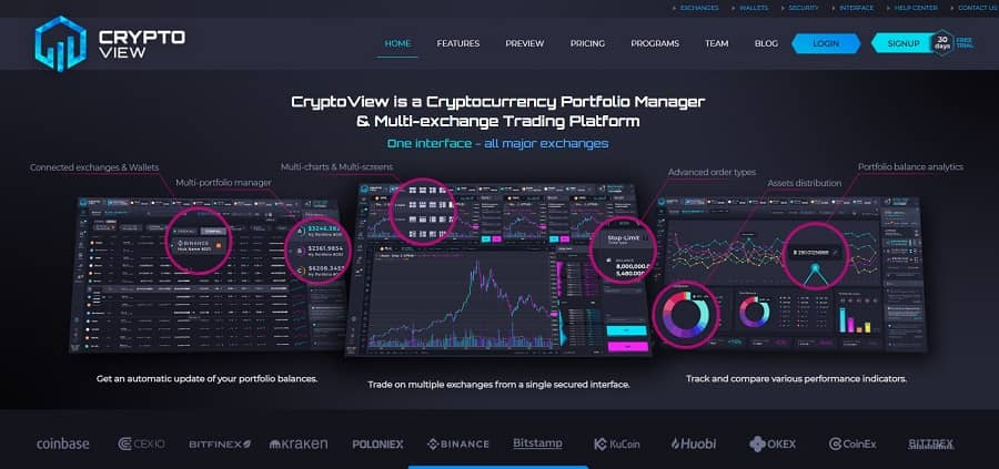 CryptoView- crypto trackers
