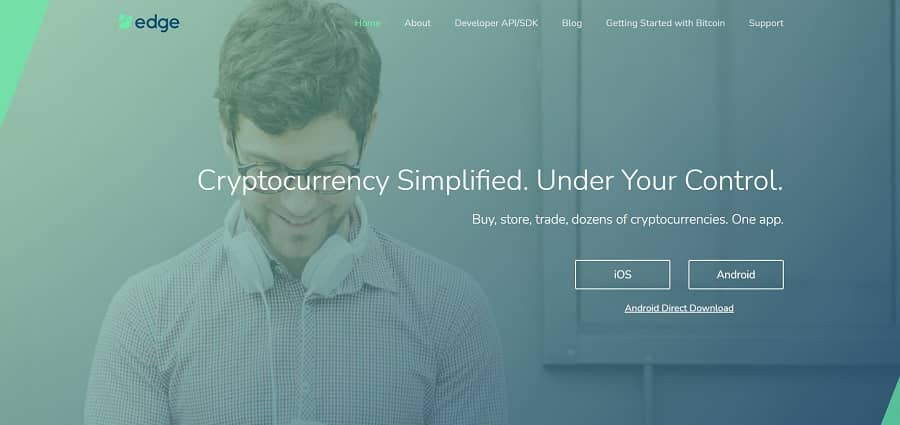 best cryptocurrency apps – Edge