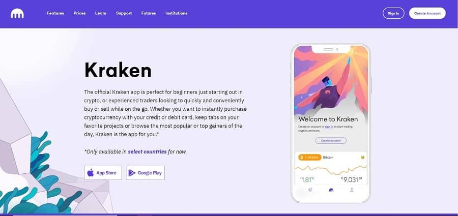 best cryptocurrency apps – Kraken