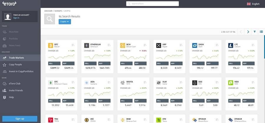 best cryptocurrency apps – eToro