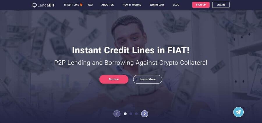 comptes d'intérêt en crypto-monnaie